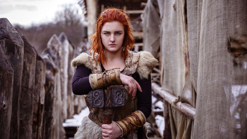 Dameklær til vikinger