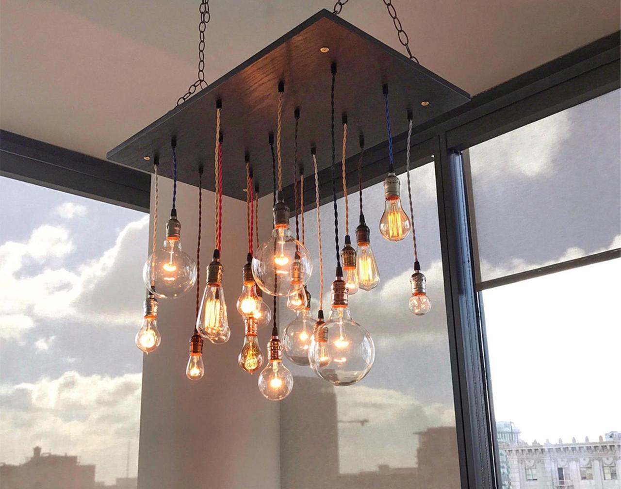 lysekroner og lamper